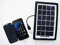 Солнечная панель 3W-6V + зарядка UKC, MP-003WP