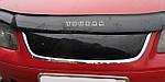 Volkswagen Touran 2003-2010 рр. Зимова решітка (верхня, 2003-2006) Глянсовий