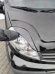 Nissan Primastar 2002-2014 рр. Вії Porshe-style Чорний мат