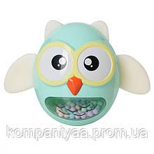 Дитяча іграшка-неваляшка Сова G-A027 (Бірюзовий)