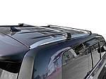 Lexus LX570 2016-2021 Поперечный багажник на рейлинги черный цвет