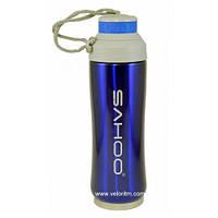 Бутылка алюминиевая, термос с  ситом 0,5л.