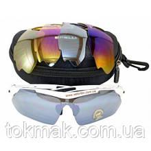 Очки SGL868 сменные линзы, белые