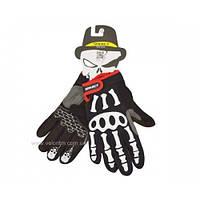 "Перчатки с пальцами ""Скелет"" (M)"