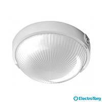 Светильник OVAL 60W прозр., белый ,металл. IP44 Lena Lighting