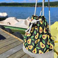 Рюкзак женский тканевый Avocado