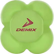 Мяч для развития реакции Demix, Зелёный