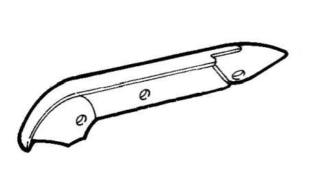 Крышка сиденья паcсажирского боковая правая Fiat Doblo
