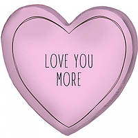 Подушка 3D сердце Love you more