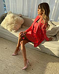 Женское платье + тренч, костюмка класса люкс, р-р 42-44; 44-46 (коралл), фото 3