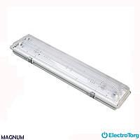 Светильник люминесцентный WPF HF ECO 2x18W (IP65) (влагозащитный) MAGNUM
