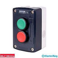 Кнопочный пост e.cs.stand.xal.d.211, пуск-стоп, E-next