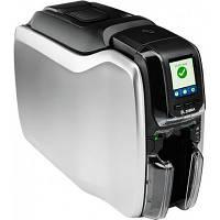Принтер пластиковых карт Zebra ZC300, двухсторонний, USB, Ethernet (ZC32-000C000EM00)