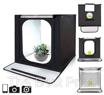 Лайткуб (photobox) для предметної зйомки Travor F60 60x60x60 см 5 фонів (95572)