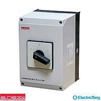 Пакетный переключатель в корпусе e.industrial.sb.1-0-2.3.40, 3р, 40А (1-0-2), E-next