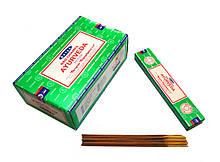 Аромапалочки натуральные индийские благовония Аюрведа Сатья Satya Ayurveda 15 грамм