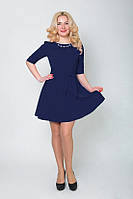 Красивое женское платье модного дизайна
