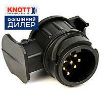 ✅Переходник-адаптер розетки c 13pin на 7pin KNOTT (Германия)