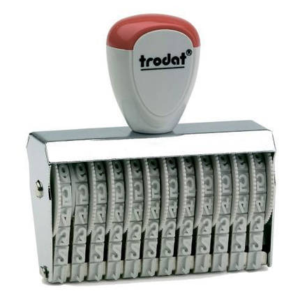 Нумератор ленточный 5мм, 12-ти разрядный, Trodat 15512, фото 2