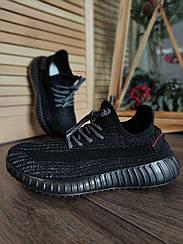 Кросівки текстильні жіночі для повсякденної шкарпетки чорні 40