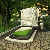 Мраморный памятник М-236