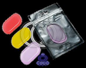 Силиконовый цветной спонж для макияжа Mac