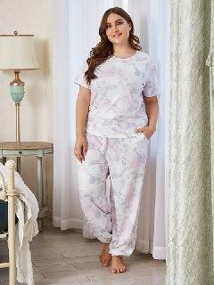 Жіноча піжама штани і сорочка