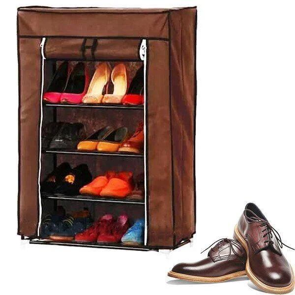 Складной тканевый шкаф для обуви Fh- 5578