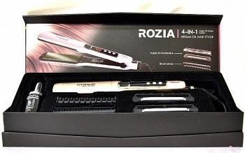 Утюжок для выпрямления и завивки волос 4в1 Rozia HR 730