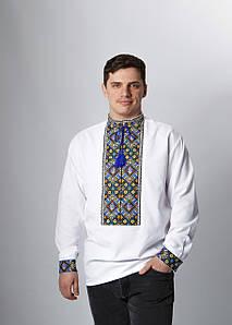Чоловіча вишиванка з довгим рукавом Тризуб