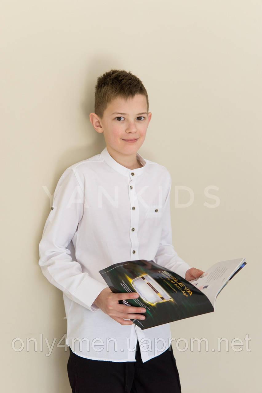 Рубашка для мальчиков на 6-11 лет