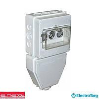 Коробка монтажная пластиковая SB IP 43 под вкручив. автомат. выключатели (e-next)