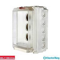 Коробка монтажная пластиковая SB-K-51 IP55 под пробки-автоматы  (250*166*140) (e-next)