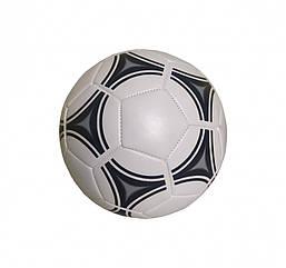 М'яч Футбольний BT-FB-0220 3-х шаровий з ниткою (Діаметр 21,6 див.) 380 р. (Чорний)