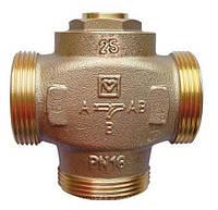 Трехходовой термосмесительный клапан HERZ Teplomix DN 25 для повышения температуры обратной линии