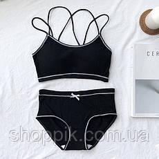 Комплект жіночої білизни Beisdanna 2258 топ і слипи, фото 2