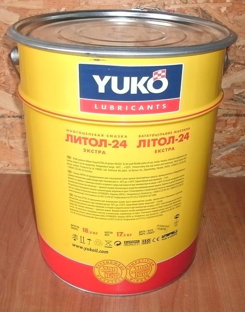 Литол-24 (17,5 кг)