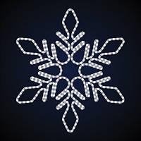 Светодиодная фигура снежинка LUMIERE 1.1*1.1 м