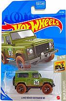 Базова машинка Hot Wheels Land Rover defender 90