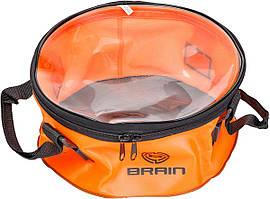 Відро Brain EVA для підгодовування 30х13см з кришкою