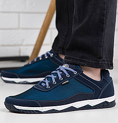 Кросівки чоловічі сітка сині 43р