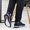 Кросівки чоловічі сітка сині 43р, фото 2