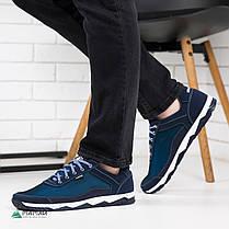 Кросівки чоловічі сітка сині 43р, фото 3