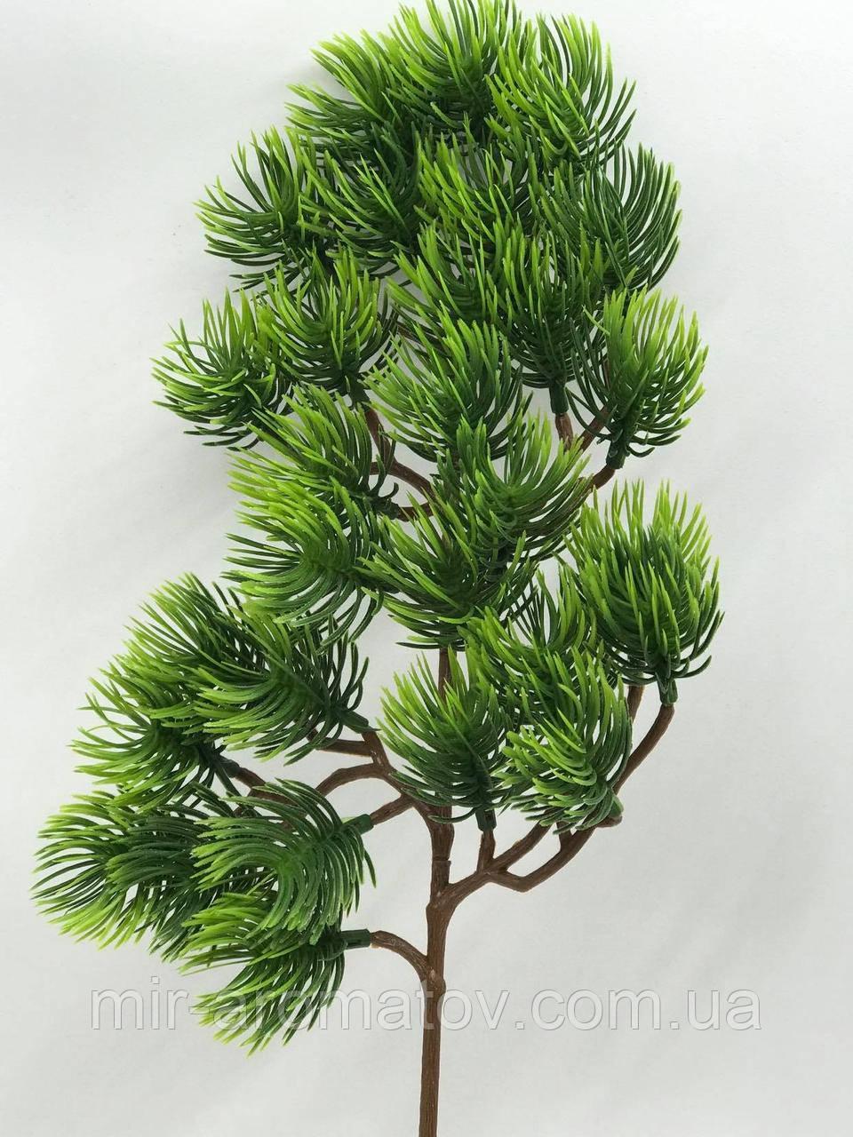 №4  ветка дерева бонсай.Длина около 34 см вместе с ножкой