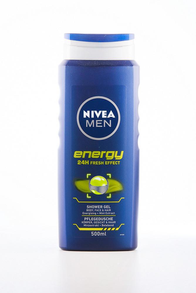 - Nivea Гель д/душу (12*500) Energy