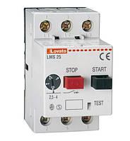 Автомат защиты электродвигателя (стартер ручного пуска) от 0,1 до 25A LMS25