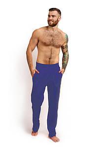 Штаны для дома хлопок тёмно-синий