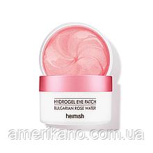 Гидрогелевые патчи с экстрактом розы HEIMISH Bulgarian Rose Hydrogel Eye Patch