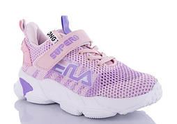 Детские розовые кроссовки, размеры 31-36, замеры в описании
