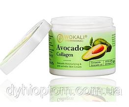 Крем для лица Wokali Avocado Collagen Firming Cream, 115 g